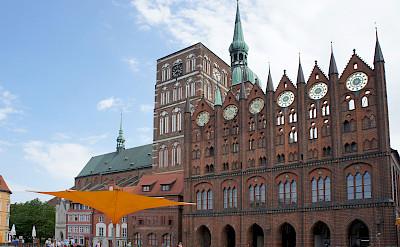 Altermarkt in Stralsund, Germany. Photo via Tour Operator