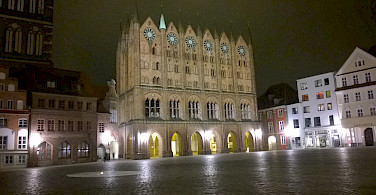 Town Hall in Stralsund, Germany. Photo via Flickr:H G