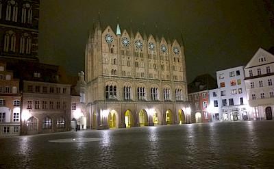 Town Hall in Stralsund, Germany. Photo via Flickr:H G