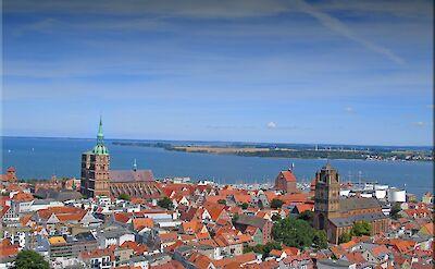 St Marienkirche at Altstadt in Stralsund, a Hanseatic Town on the Baltic Sea, Germany. Flickr:Jorbasa Fotografie
