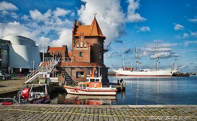 Harbor in Stralsund, Germany. Flickr:Heribert Bechen