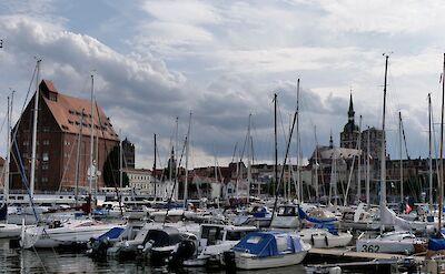 Harbor in Stralsund, Germany. ©TO