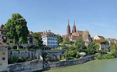 On the Rhine River, Basel, Switzerland. CC:Taxiarchos228