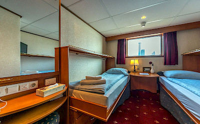 Cabin on MS Princess - Bike & Boat Tours