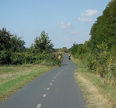 Quiet bike paths on the Moravia Bike Tour through Poland, Czech Republic and Austria. Photo via Tour Operator