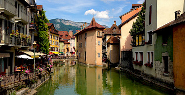 Another photo of lovely Annecy, France. Photo via Flickr:Navin Rajagopalan