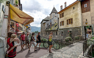 Lovely town of Annecy in Haute Savoie, France. Flickr:Jean Balczesak