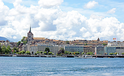 Geneva on the Lake in Switzerland. Flickr:Dennis Jarvis