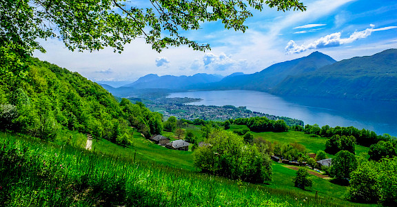 Lake Bourget in department of Savoie, France. Flickr:Michael Bourgeois