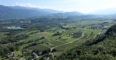 Vineyards aplenty in Saint-Pierre-d'Albigny in Savoie department of France. Photo via Flickr:Guilhem Vellut