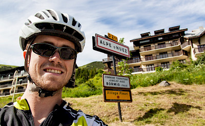 On the way up Alpe d'Huez, France. Flickr:Robbie Shade