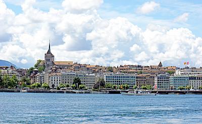Lake Geneva in Switzerland. Flickr:Dennis Jarvis