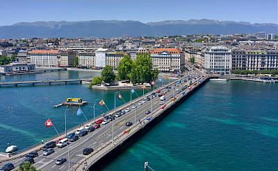 Lake Geneva in Switzerland. Flickr:Xavier