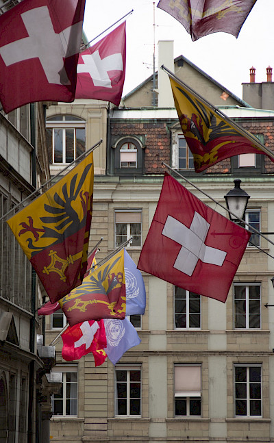 Old Town of Geneva, Switzerland. Flickr:www.david baxendale.com