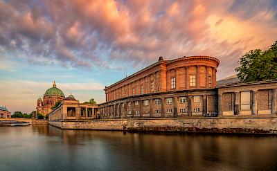 Old National Gallery in Berlin, Germany. CC:Marek Heise Fotografie