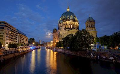 Berliner Dom on the Spree River in Germany. Flickr:abbilder