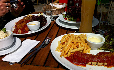 Currywurst in Germany. Flickr:Jeremy Keith