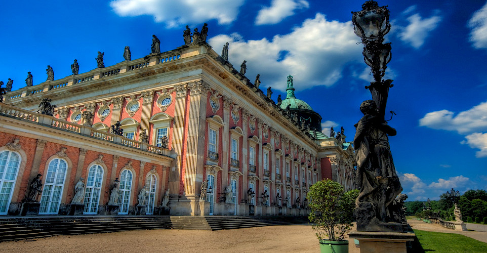 Neues Palais in Potsdam, Germany. Flickr:Wolfgang Staudt