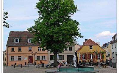 Marktplatz in Werder, Germany. Flickr:Jorbasa Fotografie