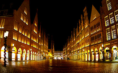 Prinzipalmarkt in Münster, Germany. Photo via Flickr:Thorsten Hartmann