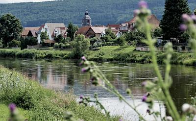 Weser River in Weserbergland, Germany. Flickr:Marco Brandstetter