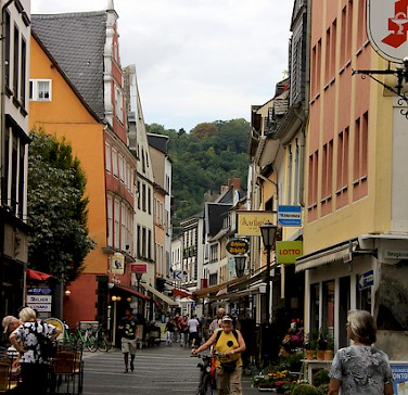 Andernach also along the Rhine River, Germany. Photo via Flickr:michael.berlin