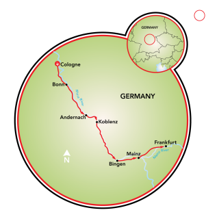 Cologne to Frankfurt Map