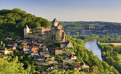 Beautiful Beynac in Dordogne, France. Photo via Flickr:Francisco Javier Garcia Orts