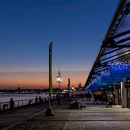 Along the Garonne River, Bordeaux, France. Photo via Flickr:Grand Parc - Bordeaux, France