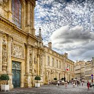 Bordeaux along River Garonne River within Gironde region of France. Photo via Flickr:Jean Balczesak