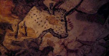 Lascaux cave paintings. Photo via Flickr:Christine McIntosh