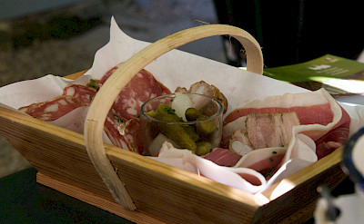 Tasty French treats in Saint-Émilion, a UNESCO World Heritage Site in southwestern France. Flickr:Julien Menichini