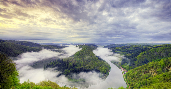 Saar River near Merzig, Germany. Flickr:Wolfgang Staudt