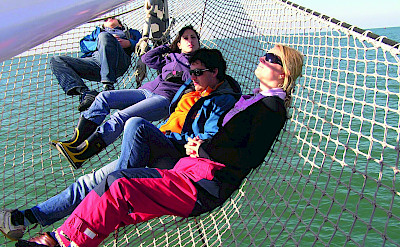 Relaxing on the Flying Dutchman - Bike & Boat Tours