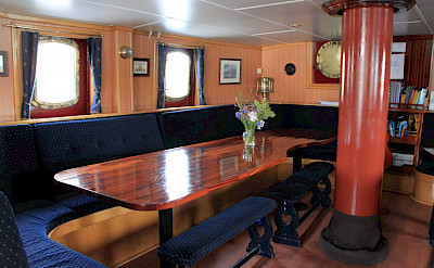 Dining Area - Flying Dutchman - Bike & Boat Tours