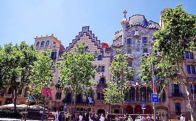 Great architecture in Barcelona, Spain. CC:Balou46