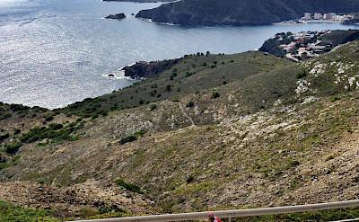 Biking near Portbou, Spain. Photo courtesy of Tour Operator.
