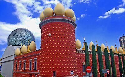 Dali's Museu De Teatre in Figueres, Spain. Flickr:Andrew E. Larsen