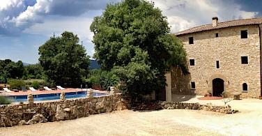 Your accommodations at Mas Pelegri. Photo courtesy of Tour Operator.