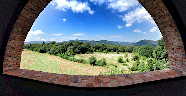 View from the terrace at Mas Peligri. Photo courtesy of Tour Operator.