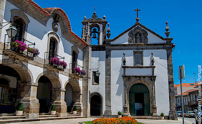 Caminha, Portugal. Beautiful architecture on this bike tour! Photo via Flickr:Turismo en Portugal