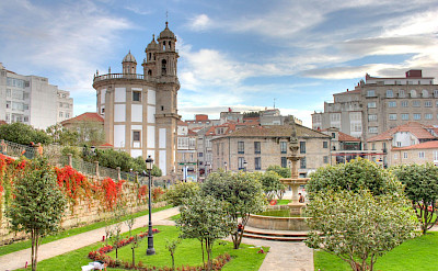 Pontevedra on the Iberian Peninsula in Spain. Flickr:Ivan PC