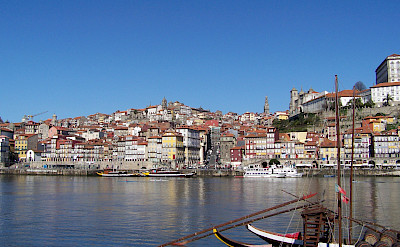 Beautiful port in Porto, Portugal. Photo via Flickr:Cornelius Kibelka