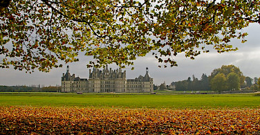 Chateau de Chambord, France. Photo via Flickr:Daniel Jolivet