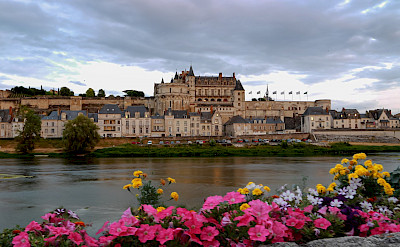 Château d'Amboise on the Loire River, France. Flickr:Angelo Brathot