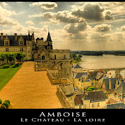 Amboise no Vale do Loire Foto