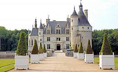 Château de Chenonceau along the Cher River near Chenonceaux. Creative Commons:Dennis Jarvis