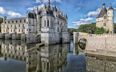 Château de Chenonceau sits near the small village of Chenonceaux. Creative Commons:Yvanlastes