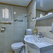 Bathroom on the Melody - Bike & Boat Tours