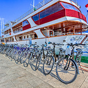 Bikes on the Melody - Bike & Boat Tours